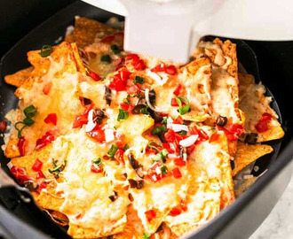Air Fryer Nachos
