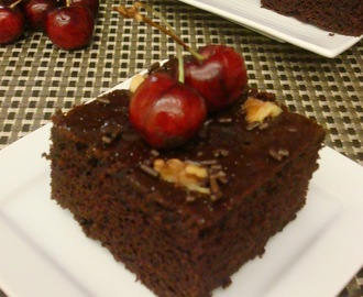 Chocolate Cake (Using yogurt, Eggless, butterless)
