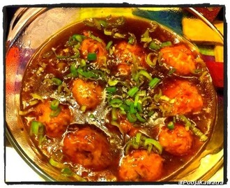 Mixed vegetable manchurian
