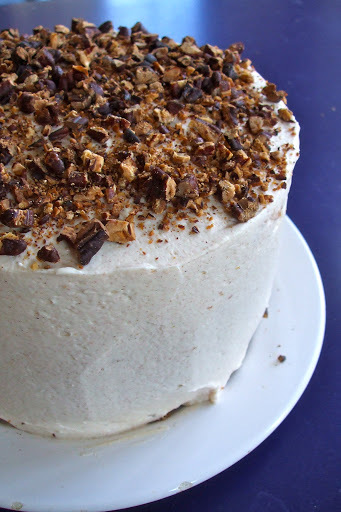 Carrot Cake with Mascarpone, Cream Cheese and Cinnamon Icing (and some 'Hunger Games' matters)