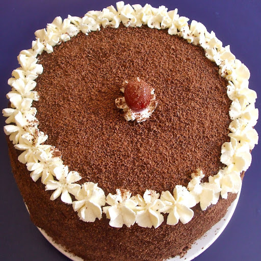 My Wonky Black Forest Gâteau