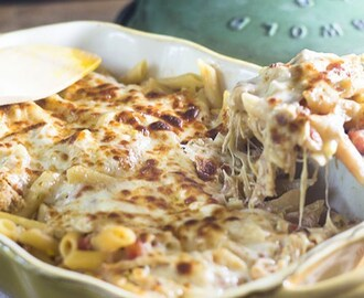 Mexican Chicken Pasta Bake