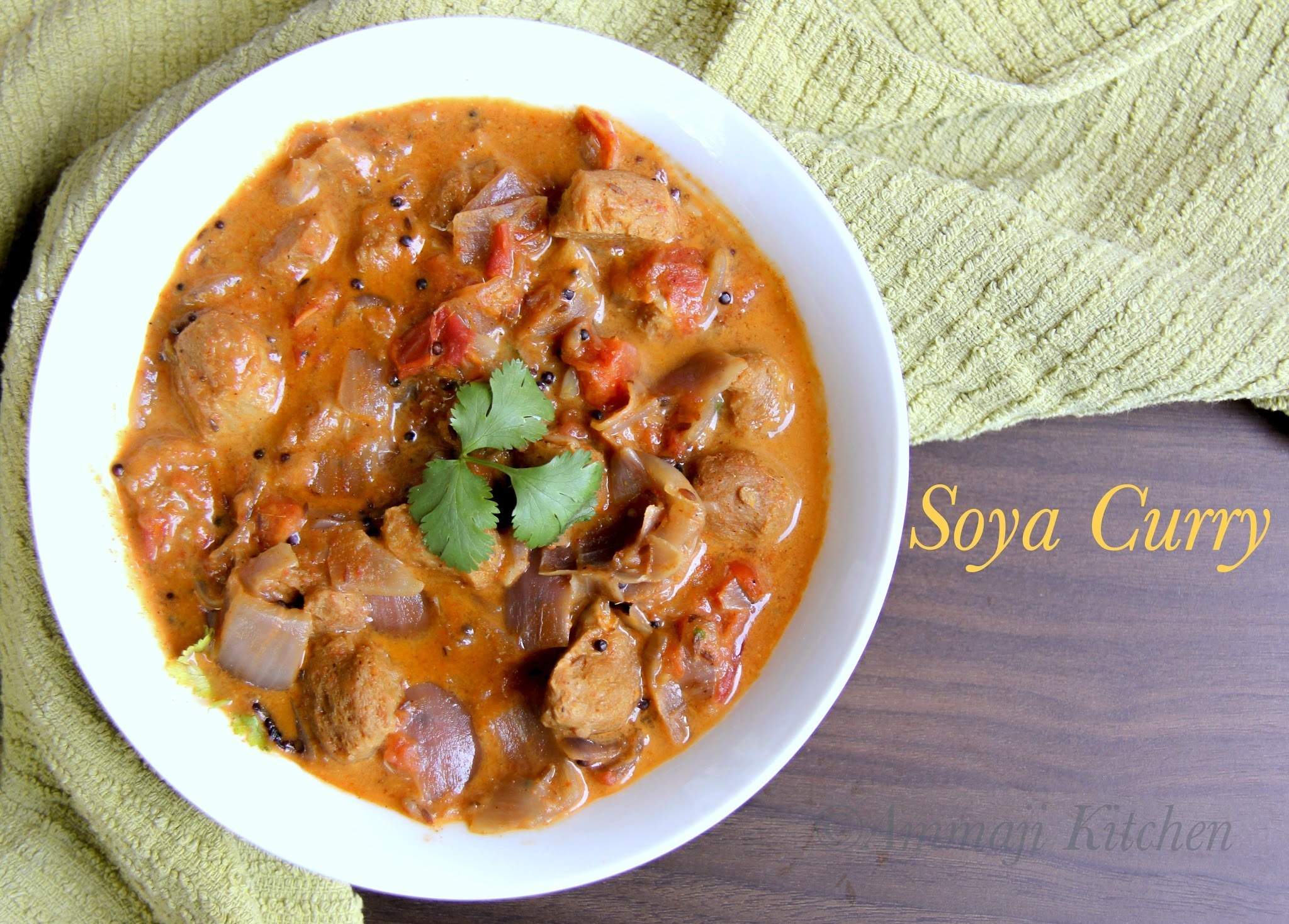 Soya Chunk Curry | Meal Maker Curry | Soya Bean Subzi