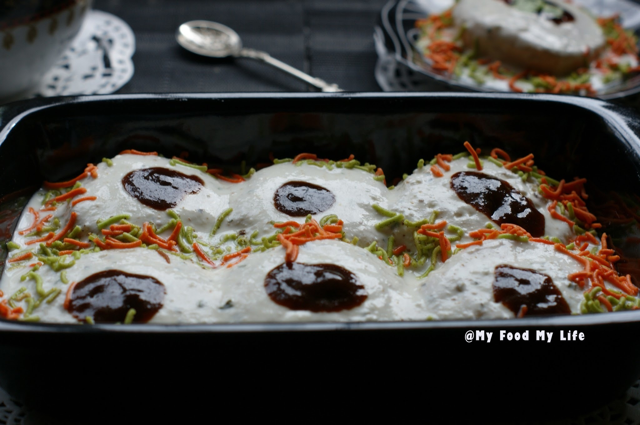 Blogging Marathon - Day Two - Instant Dahi Vada