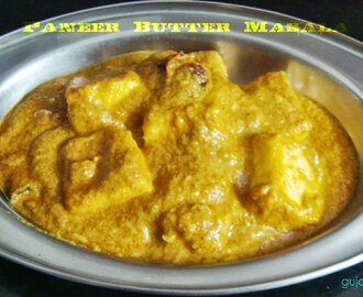 Paneer Butter Masala - Spicy and delicious curry