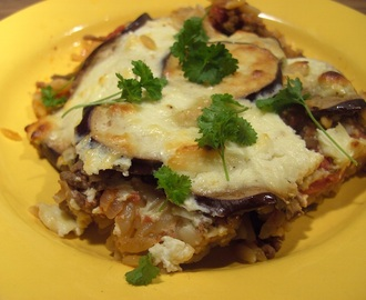 Going Greek? What about some delicious Moussaka