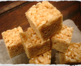 Homemade Rice Krispies Treats