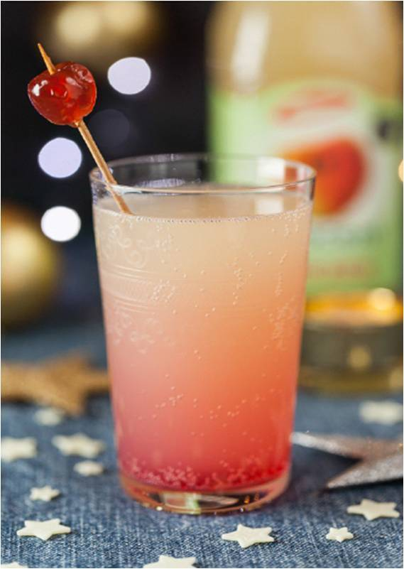 St Lucy's Day, Saffron Cakes and A Pomegranate in a Pink Apple Tree Mocktail Recipe!
