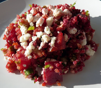 Salade Quinoa et Betteraves