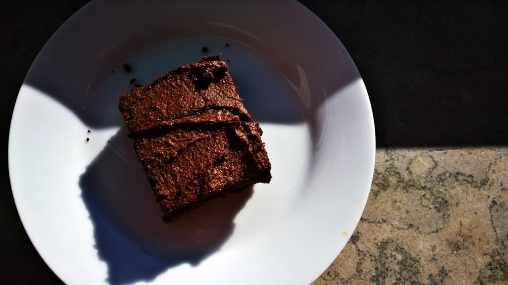 Brownie med sorte bønner (black bean brownie)