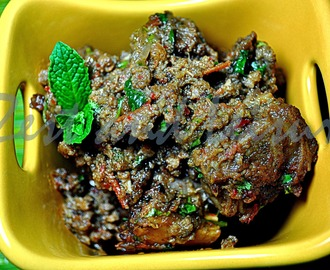 Roasted Mutton Curry - Valentine's Day Special