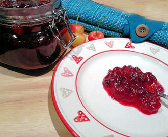 Gorgeous Red Cranberry and Cherry Sauce Recipe – Accompaniment to Christmas Dinner