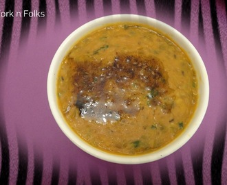 Rajasthani Daal with mixed lentils