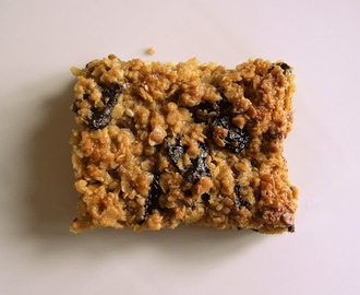 Fruity flapjacks