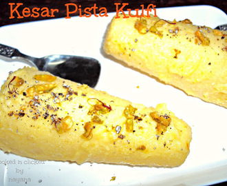 Kesar Pista Kulfi ( For SNC )
