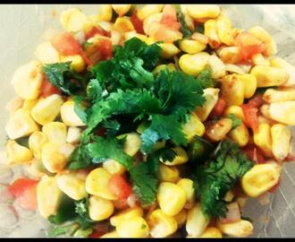 Recipe : Spicy Sweet Corn Chaat