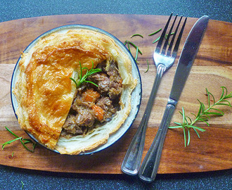 * Beef and Guinness Pie
