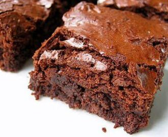 Brownies, sabor intenso a chocolate
