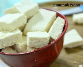Homemade Paneer | How to make Indian Cottage Cheese