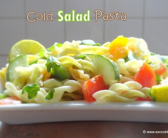 Cold Pasta Salad | Easy Summer Recipes
