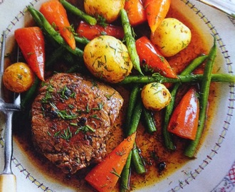 Slimming World - Beef Steak Pot Roast