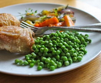 Chicken Tray Bake, a thrifty meal for the family