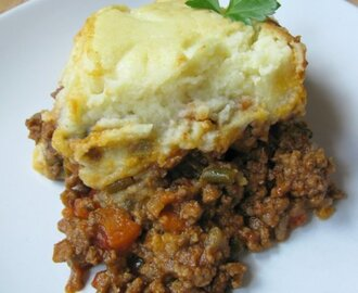 Farmer's cottage pie... something for long, cold winter evenings...