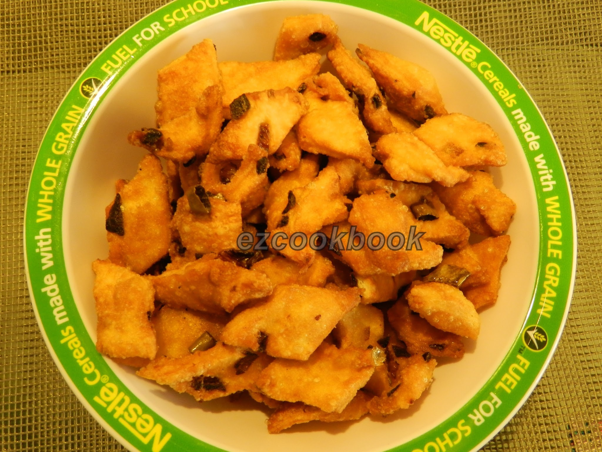 Maida Pakoda - Easy Snack Recipe