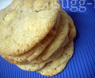galletas de mazapán y chocolate blanco