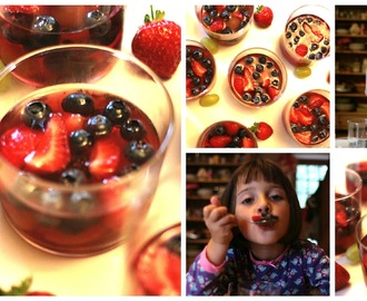 Homemade Fruit Jellies (makes 6 – 8)