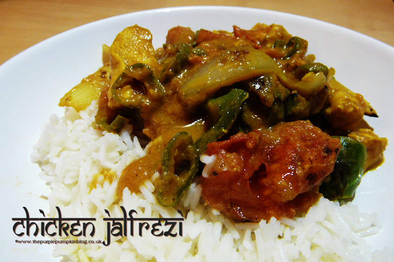 Chicken Jalfrezi [Recipe]