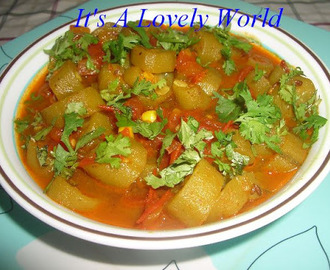 Ridge Gourd and Tomato Curry