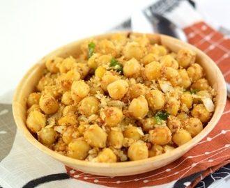 Channa Masala Sundal , How to make Kondakadalai Masala Sundal