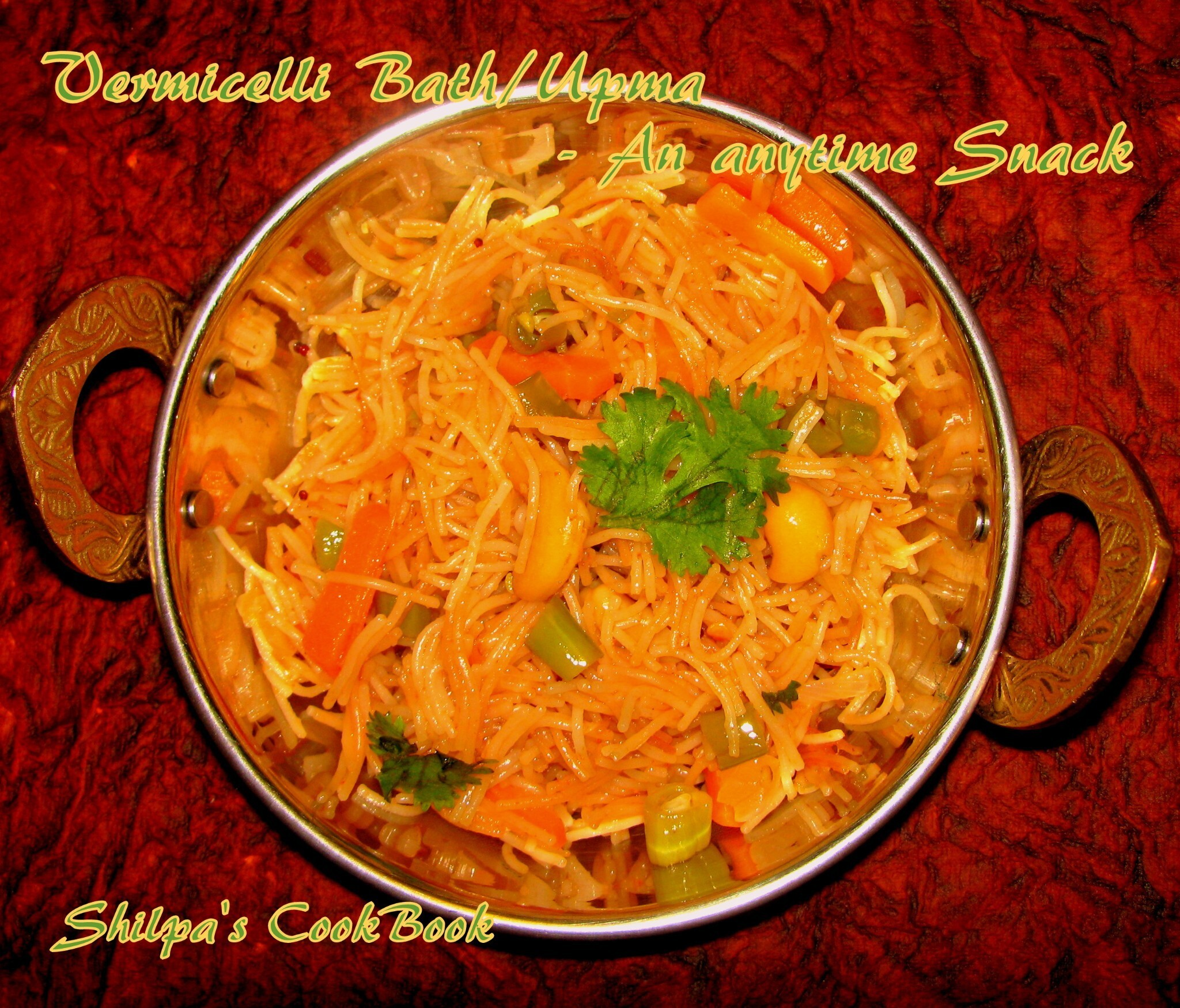 Vermicelli Bath - An anytime Snack