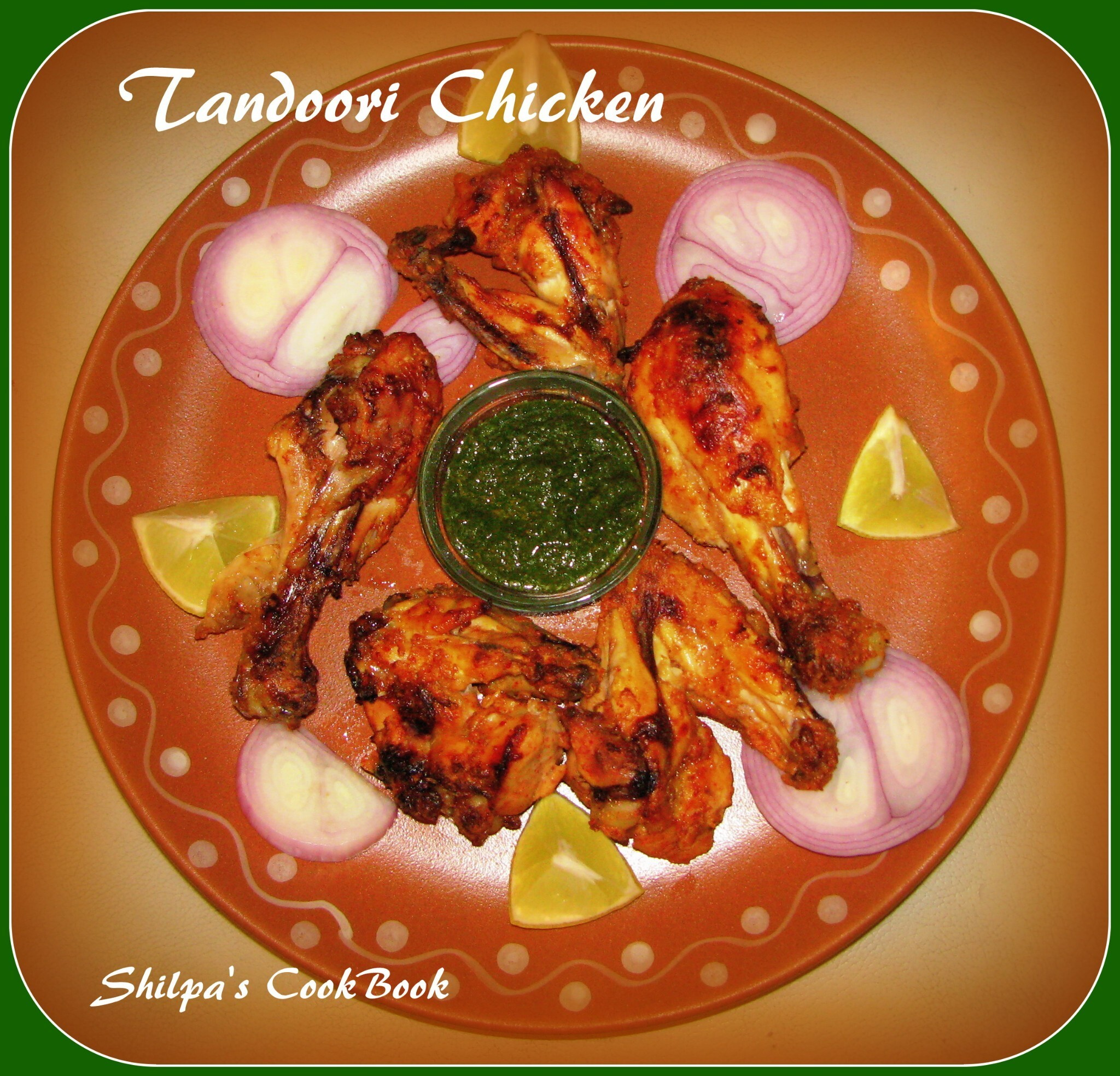 how to cook tandoori chicken in electric oven