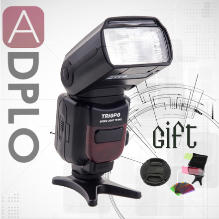 Buy 1 get 2 gift !Triopo TR-982 Wireless E-TTL Flash Light 1/8000s Suit for Canon Camera 5D MARK 3 canon mark 4 as YN568EX