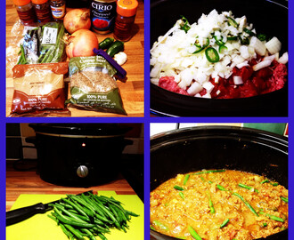 Slow Cooker Store Cupboard Lamb Curry (Keema)