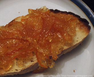 Homemade Seville Orange Marmalade