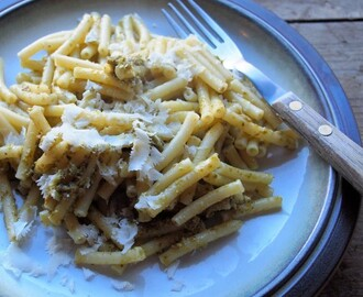 Meal Planning Monday, 5:2 Diet Fast Days and Pesto Pasta with Parmesan Recipe