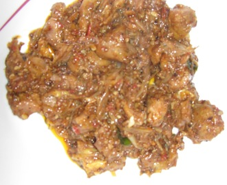 Mutton Pepper Fry - Andhra style