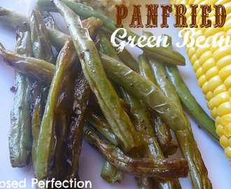 Panfried Green Beans