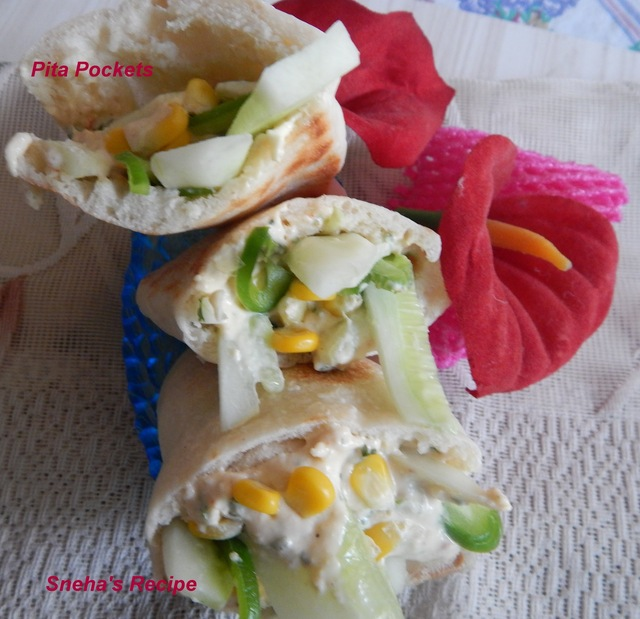 Low Cal - Healthy with lots of Veggies – Pita Pockets