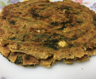 Palak paneer without onion and garlic by sanjeev kapoor recipes delicious palak paneer lachha paratha forumfinder Gallery