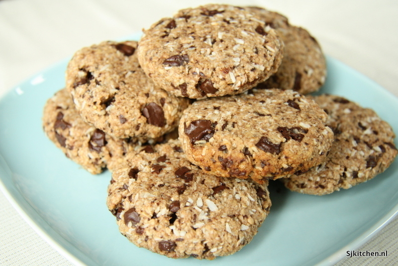 #foodblogswap – Gezonde Chocolate Chip Cookies