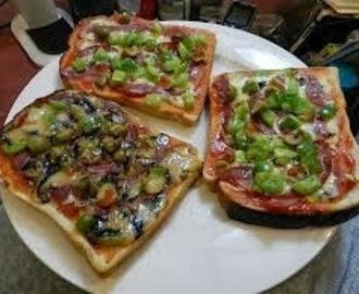 Mock Bread Pizza