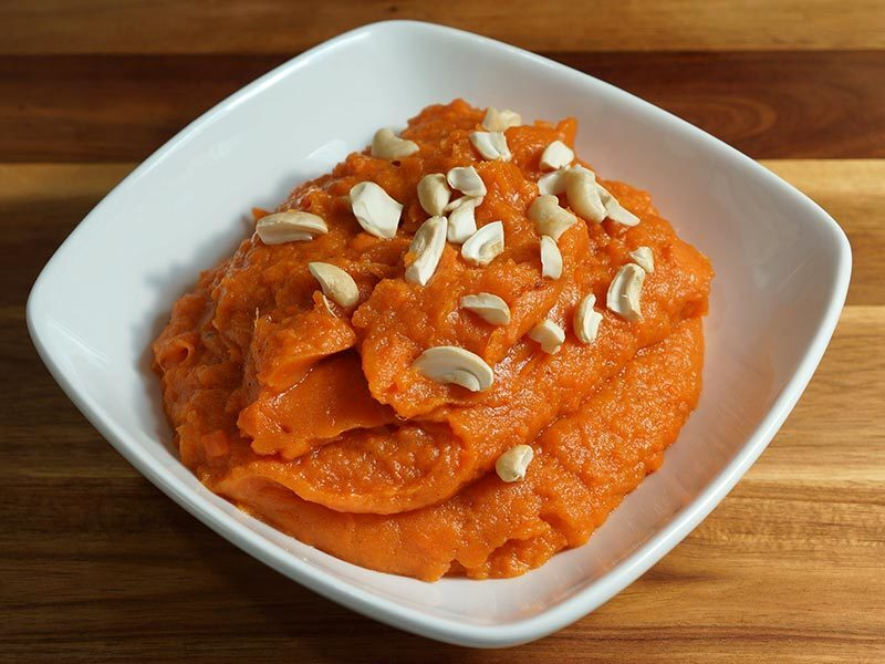 Manjula's Kitchen Sweet Potato Halwa (Eggless Pudding) Post navigation