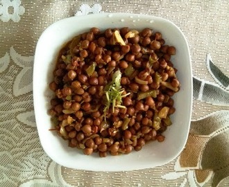 Kala Chana / Black Chickpea Recipe