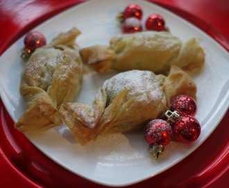 Festive Baking: Mincemeat and Marzipan Filo Crackers and the What Kate Baked Guide to Christmas Parties