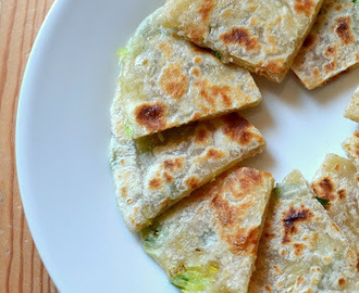 Chinese Scallion Pancakes with Ginger dipping sauce - IFC Challenge #1 | Cong You Bing