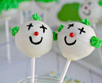 Cake Pops infantiles de chocolate